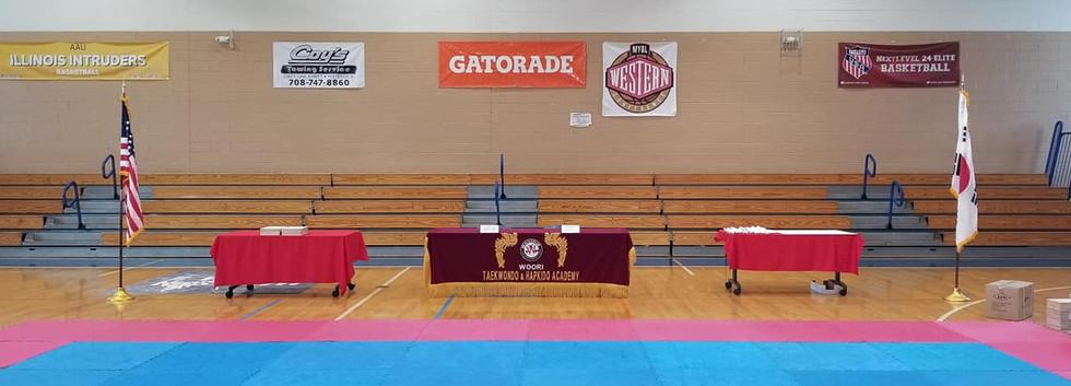 Wiz kids sports camp Taekwondo graduation