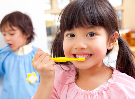 Tooth brushing Tips For Tots, From Your Cedar Park Dentist - Blooming Dental
