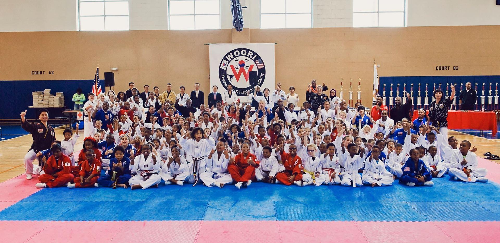 Woori Taekwondo Group Photo