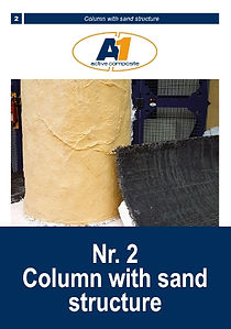 Make a sandstone effect column with Acry