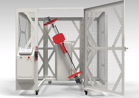 EVR rotacasting machine