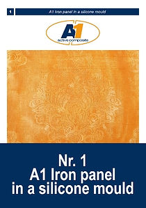 Make a rust effect panel with Acrylic On
