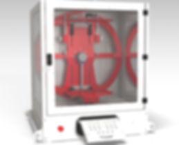 EVU lagre bench top rotacaster   otational asting machine
