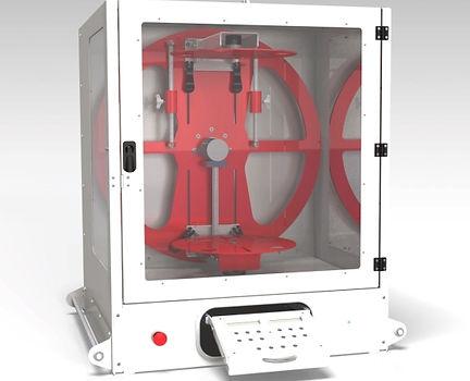 EVU lagre bench top rotacaster | otational asting machine