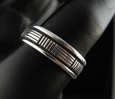 Sterling Silver Ring by Bruce Morgan sz 12 3/4