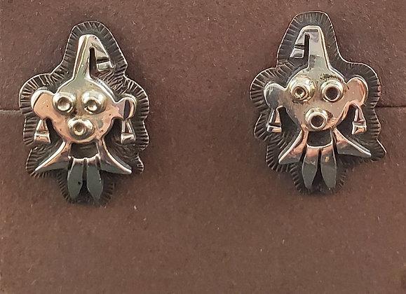 Hopi Mud Head Post Earrings