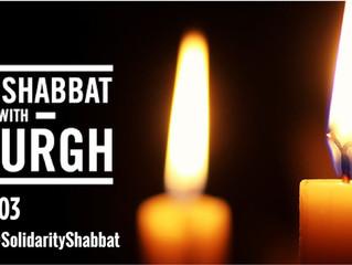 #ShowUpforShabbat  #SolidarityShabbat