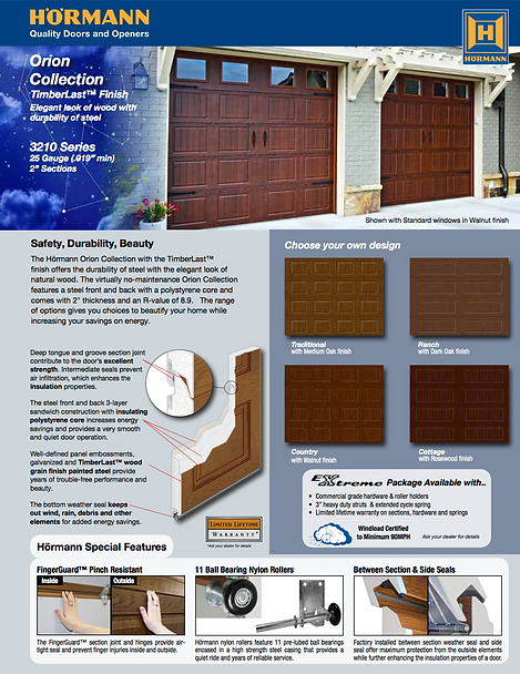 TimberLast Brochure