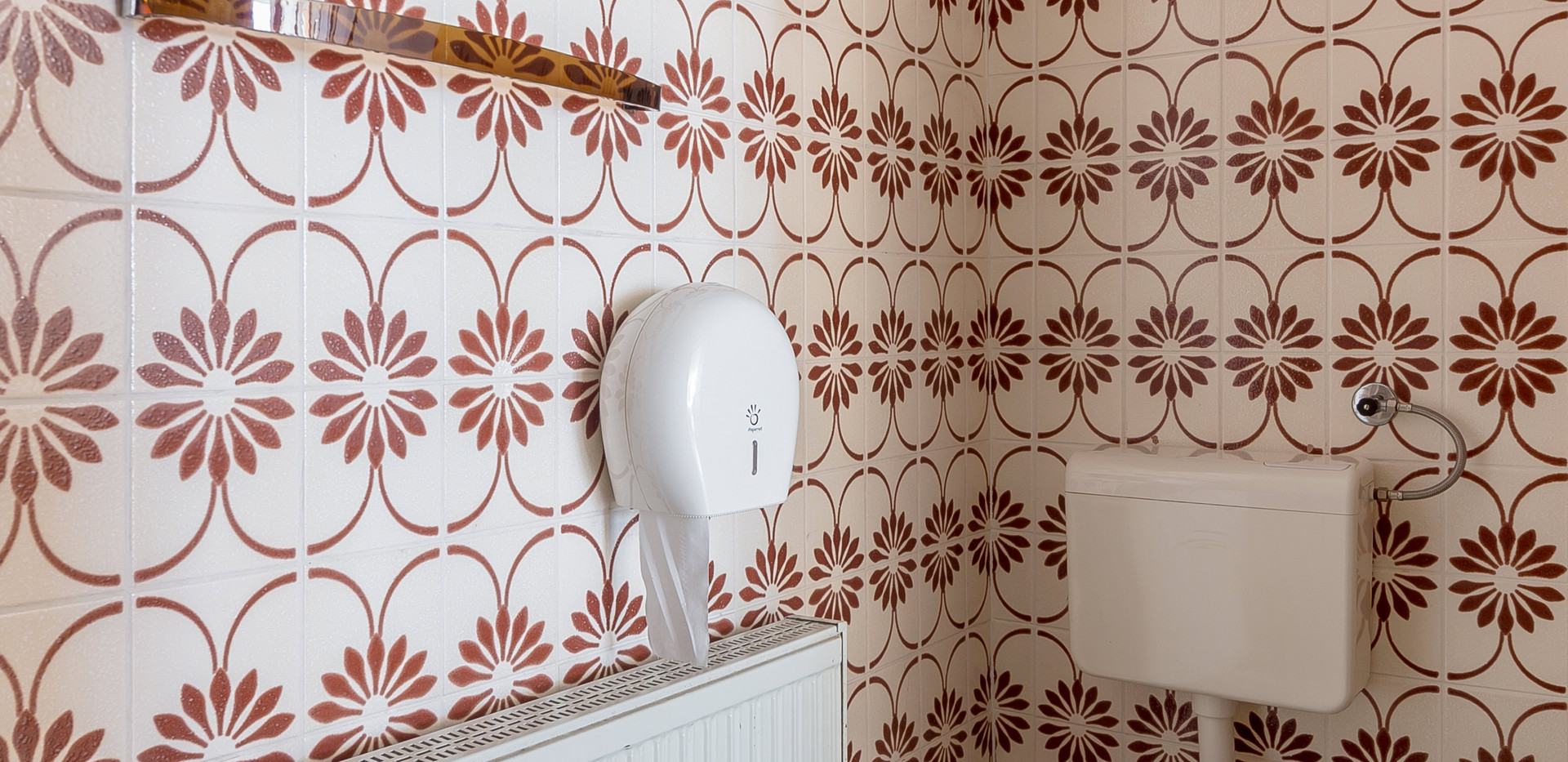 Bathroom in apartment-studio