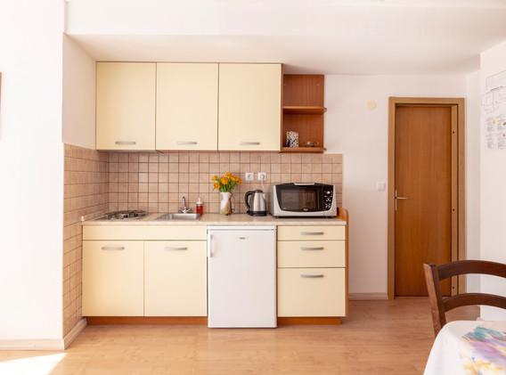 Apartment studio in the 1st floor