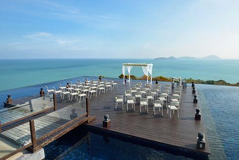 Oceanfront Hochzeit