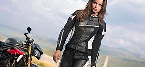 Motorradbekleidung für Damen