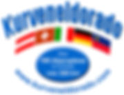Logo Kurveneldorado alle Landesflaggen i