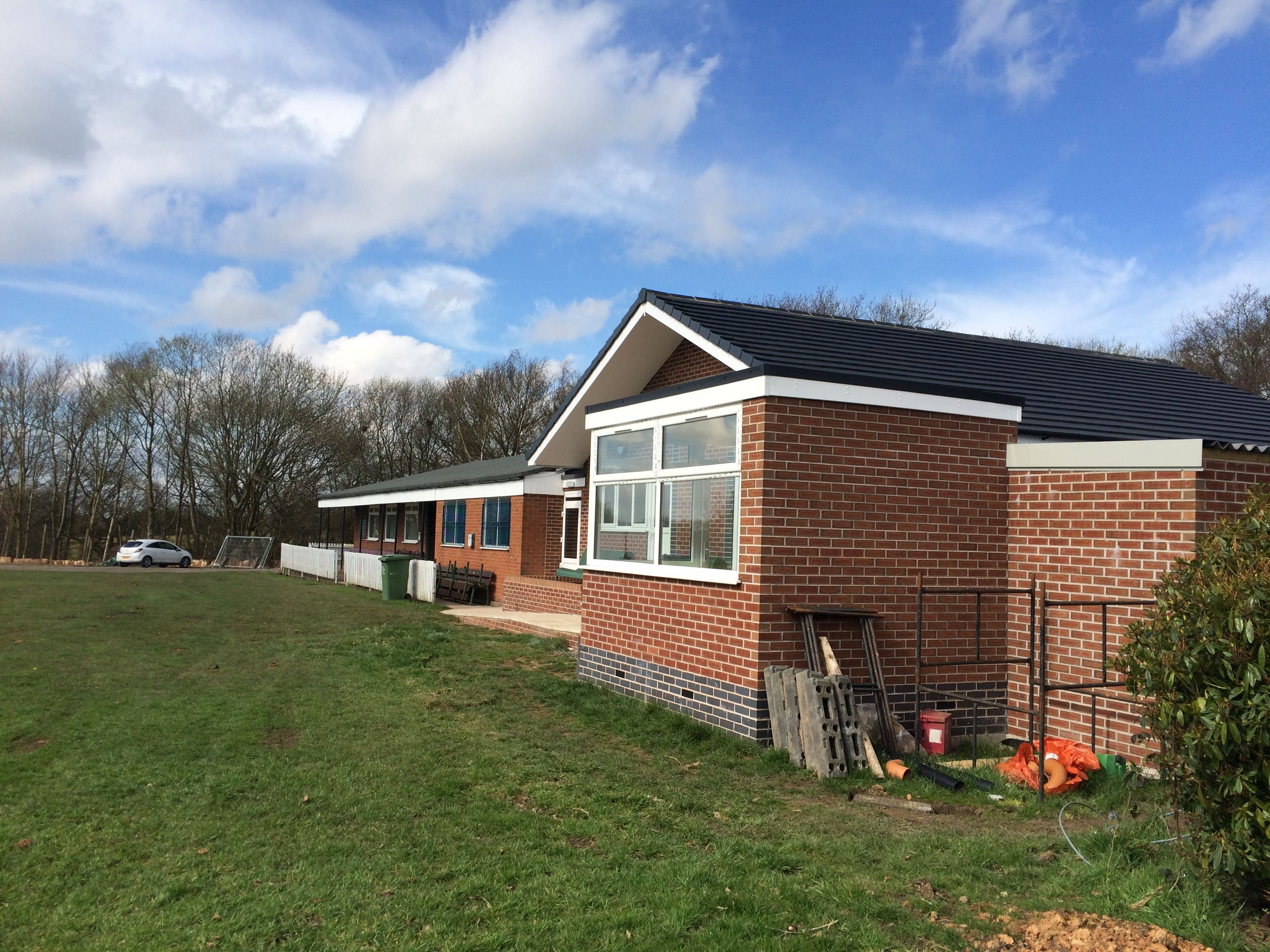 New Scorebox and Changing Rooms