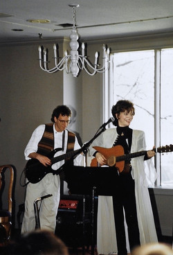 Michael Hopkins and Betsy Hammer