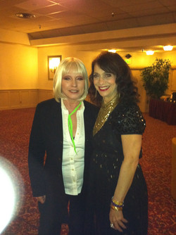 Debbie Harry and Betsy Hammer