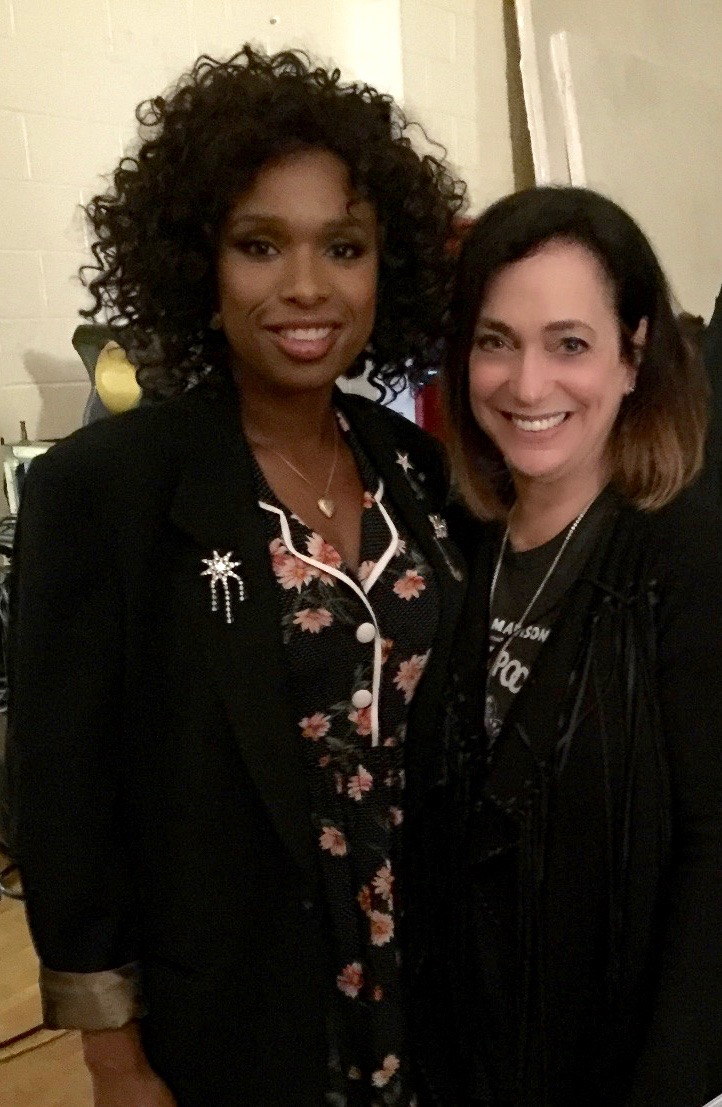 Jennifer Hudson and Betsy Hammer