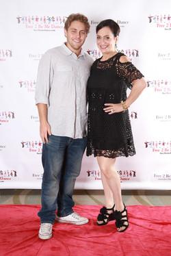 Jared Sandler and Betsy Hammer