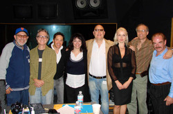 Recording with Dave Koz
