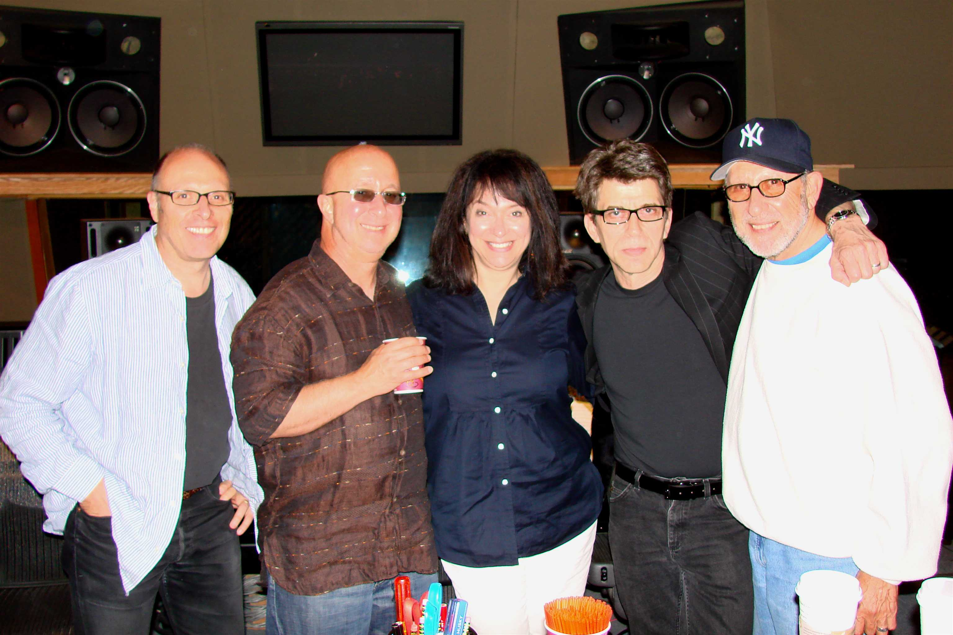 With Paul Shaffer in NYC