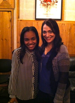 China Anne McClain and Betsy Hammer