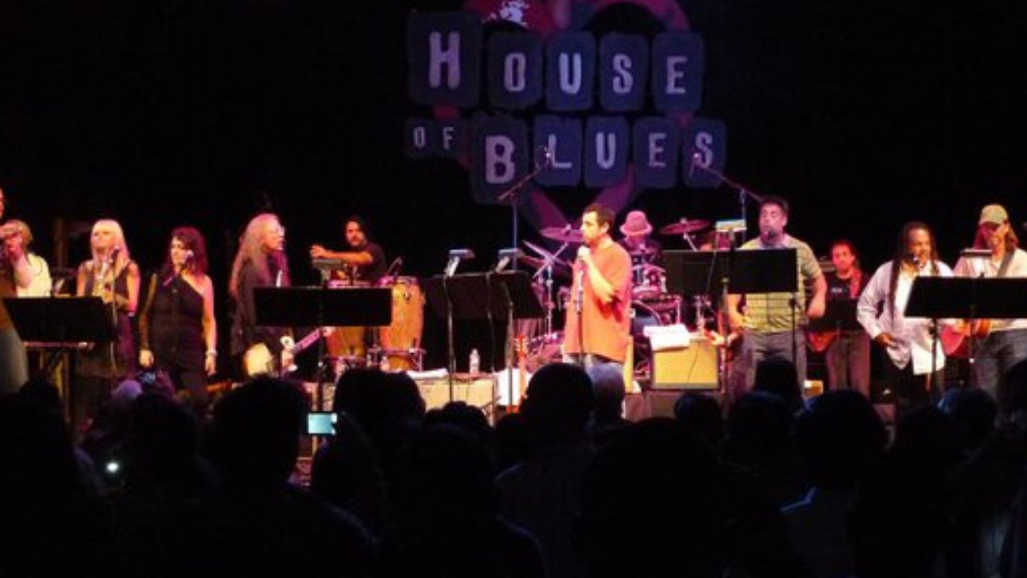 Performing at The House of Blues