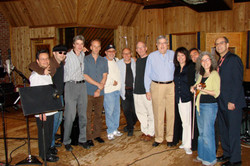 With Marvin Hamlisch in NYC