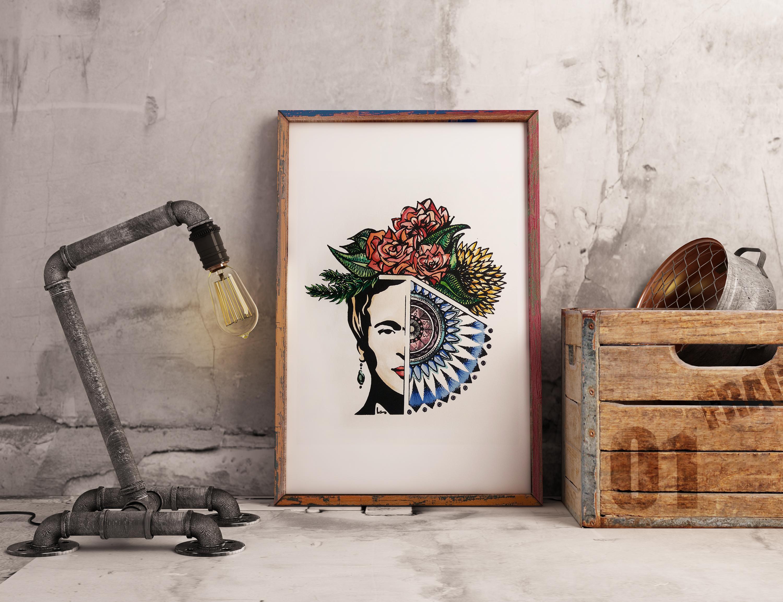 Frida watercolours
