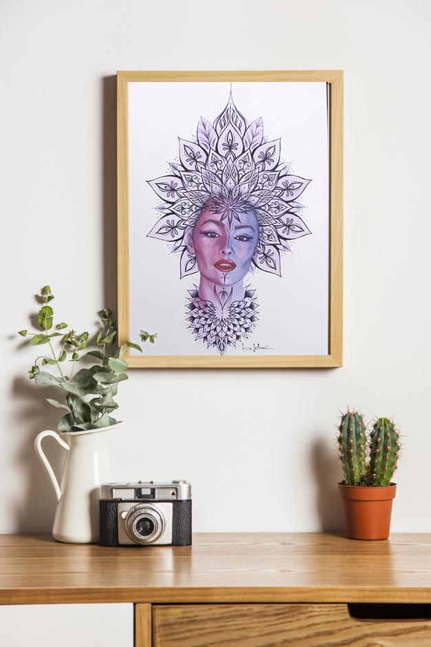 Afro mandala