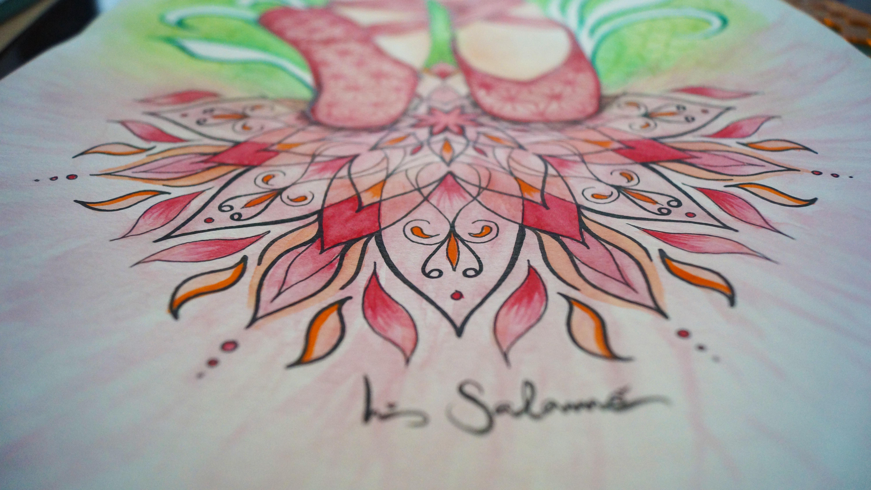 Close up Mandala