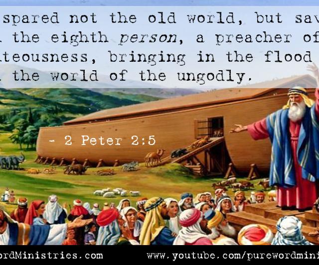 2 Peter 2:5