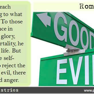 Romans 2:6-8