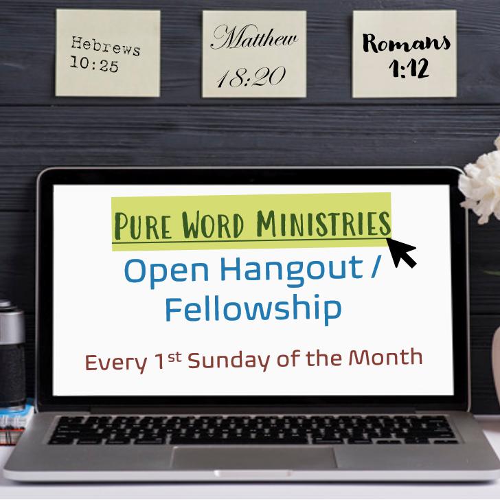 Online Fellowship and Hangout:  Open Panel