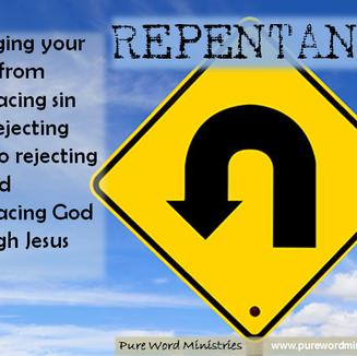 Biblical Repentance