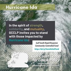 Hurricane Ida statement