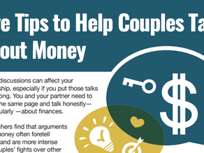 Five Tips to Help Couples Talk About Money