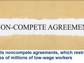 Biden targets noncompete agreements,