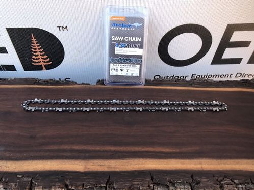 """12"""" Archer NEW 1/4 Pitch .043 64DL Chainsaw Chain - FITS STIHL - SHIPS FAST!"""