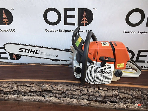 Stihl MS660 MAGNUM Chainsaw / GREAT RUNNING 91.6CC / SHIPS FAST - NICE SAW 20""