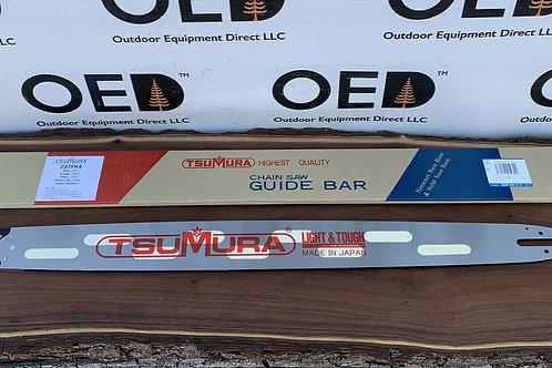 "32"" TsuMura LIGHT WEIGHT Guide Bar 3/8-063-105DL STIHL Chainsaw FAST SHIP 237FK4"