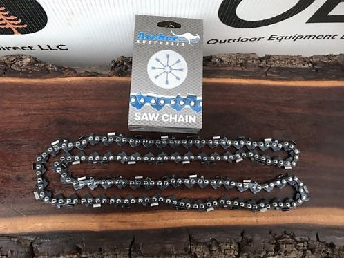 """2 Pack 20"""" Archer Chainsaw Chain .325 pitch FULL CHISEL .050 Gauge 81 DL drive"""
