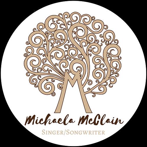 Michaela McClain Logo Sticker