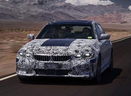 NOVO BMW SÉRIE 3 2020 ENTRA EM FASE FINAL DE TESTES