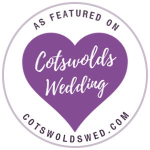 As Featured on Cotswolds Wedding
