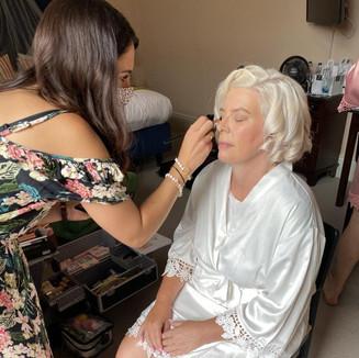 Action Make-up Shot