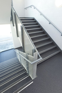 Back of House Stairwell Protection