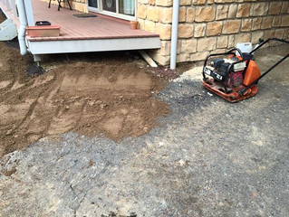 Granetic Sand and prep for Asphalt.