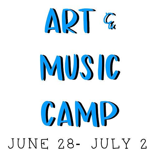 Art & Music Camp - HALF PAYMENT
