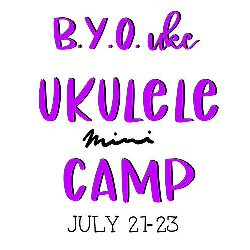 Ukulele Camp - 3 days only
