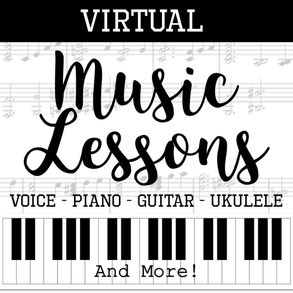 music lessons piano guitar ukulele voice